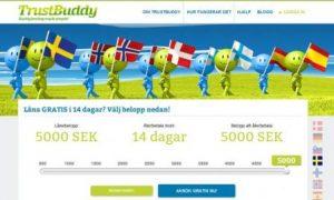 trustbuddy - låna pengar